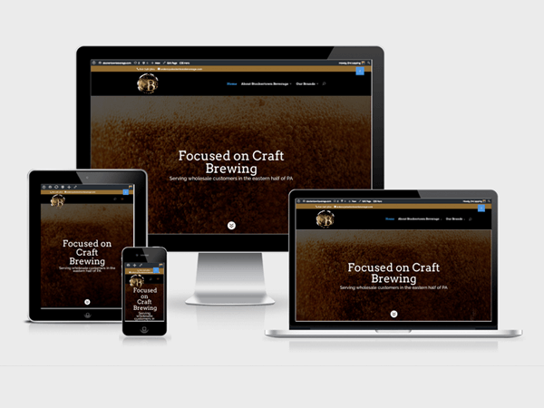 Craft Beer WordPress Website Design, Doylestown PA